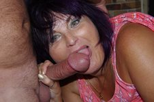 Wife enjoying her friends large cock! I'm sure she thinks she gone to cock ...