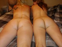 Her first full swap and lesbian fun