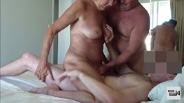 Pt2 of a new set. Another guy joins us for an afternoon of fun. My babe doe...